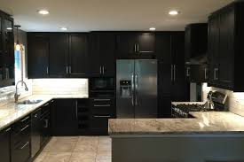 An IKEA Kitchen Renovation For Serious Chefs With Style - Ikea black kitchen cabinets