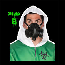 Halloween Gas Mask Costume Horror Hall Gothic Cheap Halloween Props Costume Accessories