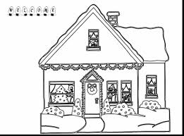 gingerbread coloring page beautiful gingerbread house coloring page pages amp pictures