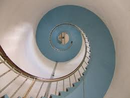 stainless steel spiral stairs hand trail free image peakpx