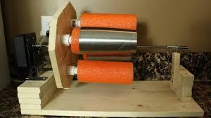 Home Rotisserie Design Ideas Diy How I Built A Rotisserie Cup Turner Tricks Of Tha