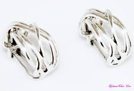 silver clip on earrings c1968 shop our selection of silpada intertwined 925 sterling