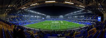 Top Balcony Goodison Park by Football League Ground Guide Everton Fc Goodison Park