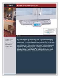 100 kitchen cd player under cabinet kitchen stereo under