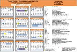2014 2015 revised calendar county schools