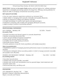 Data Entry Clerk Resume 16 Free Sample Accounting Clerk Resumes U2013 Sample Resumes 2016