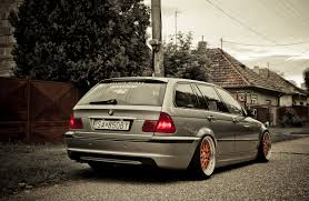 bmw slammed pic request your slammed or stanced e46 tourings general car