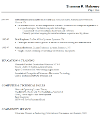 Sample Resume Computer Skills by Application Letter For Someone With No Experience