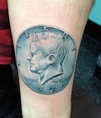 kennedy half dollar hi octane tattoo
