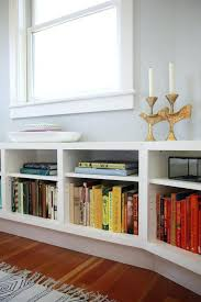 White Low Bookshelf Bookcase House Shaped Bookcase For Home Storages House Shaped