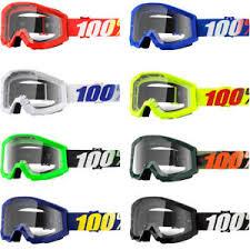 motocross goggles ebay 100 strata clear lens offroad motocross goggles ebay