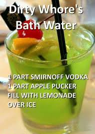 dirty u0027s bath water recipes alcoholic beverages