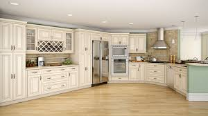 White Kitchen Cabinets With Glaze by Wonderful Cream Painted Kitchen Cabinets Have Such A Throughout Decor