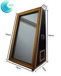 2017 latest magic mirror me selfie mirror photo booth machine for