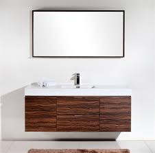 Designer Bathroom Furniture by Bathroom White Single Sink Vanity Simple Walnut Wall Mounted