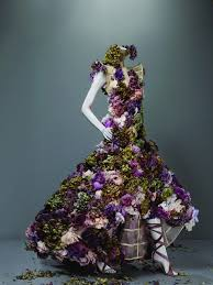 flower dress dress sarabande summer 2007 mcqueen savage