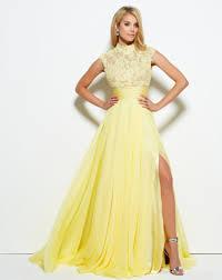 yellow prom dresses u2013 mac duggal blog