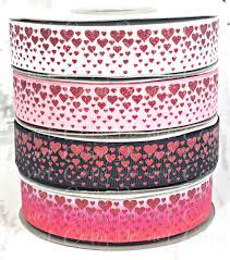 glitter ribbon wholesale 7 8 falling hearts hearts us designer ribbon glitter