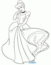 free coloring pages cinderella