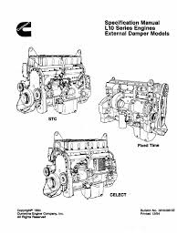 3810498 specifications manual l10 series engines external damper
