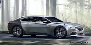 peugeot concept car 2014 peugeot exalt concept refreshed for paris will future 509