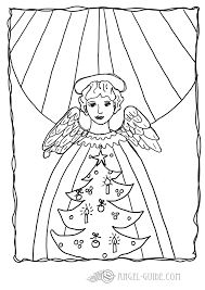 9 images of angel coloring pages christmas candles christmas