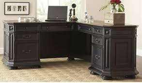 Desk L Shaped Stina L Shaped Executive Desk Reviews Birch