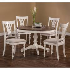 Jessica Mcclintock Dining Room Furniture by American Drew Camden Round Pedestal Dining Table White Hayneedle