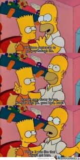 Homer Simpson Meme - 3 rules to get through life homer simpson by awesomeone meme