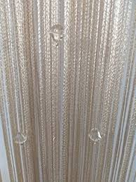 String Tassel Curtains Amazon Com Eve Split Decorative Door String Curtain Wall Panel