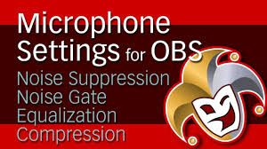 Compression Baby Gate Obs Microphone Setup Noise Suppression Noise Gate Equalization