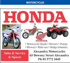 honda bikes honda bikes alexandra motorcycles and machinery