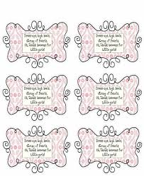 baby baby shower tag sayings shower favor tag sayings diy gifts