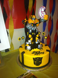 transformers bumblebee and optimus party cake topper awesome bumblebee transformer cake made for my boy s 6th