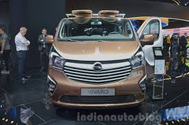 opel vivaro surf concept front at iaa 2015 indian autos blog