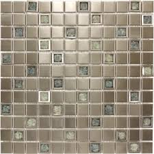 fresh creative fossil crackle glass tile blend 6749