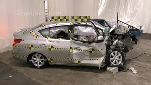 nissan versa is it a good car 2013 nissan versa crash test documentation frontal oblique