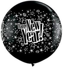 happy new year balloon 36 black happy new year 2017 balloon jeckaroonie