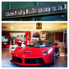 ferrari dealership ferrari laferrari lands in lebanon biser3a
