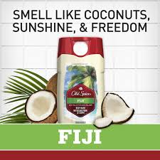 old spice fresher fiji scent body wash for men 16 oz walmart com