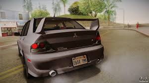 evo 8 spoiler mitsubishi lancer gsr evolution viii 2003 for gta san andreas