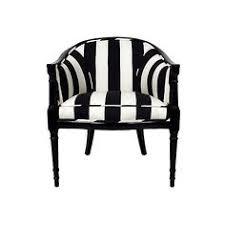 Black And White Striped Accent Chair Pair Of Regency Style Striped Armchairs Liked On Polyvore