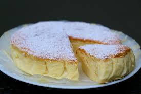 cheesecake hervé cuisine cheesecake japonais ou gâteau soufflé au chocolat blanc