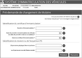 changement adresse si e social siv le nouveau système d immatriculation des véhicules