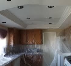 how to change a fluorescent light fixture recessed lights for old kitchen with replace fluorescent light