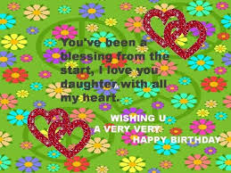 free birthday clipart for daughter clipartxtras