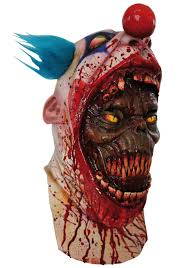 scary clown mask u2013 festival collections