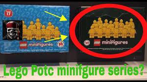 lego pirates of the caribbean minifigure series revealed youtube