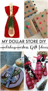christmas hostess gifts dollar store hostess gift hunt and host