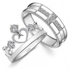 cheap wedding rings sets silver wedding rings set silver wedding ring set jewelry online